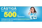 3 x voucher de cumparaturi de 500 RON
