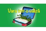 1 x valiza Carpisa cu: tableta UTOK + ochelari de soare Polaroid + 2 esarfe Ego Men Fashion Concet + pereche de sandale Il Passo + EDT D&G 100ml + fond de picioare Flormar + ruj Flormar + gloss Flormar + fond de ten stick Flormar + tus ochi Flormar + L'ERBOLARIO Sun Fluid dupa plaja Karite&Argan 200ml + L'ERBOLARIO Sun spray Sole SPF 30 150ml + ceas Swatch + rochita de plaja Nissa + costum de baie Lee Cooper + geanta Call it Spring + accesorii (colier + bratara) Call it Spring, 5 x voucher 150 lei Otter, 2 x voucher 200 lei Aldo, 5 x esarfa FreyWille, 1 x geanta de dama Fiorucci Shoe Art - Kriket, 1 x pereche ochelari Guess, 1 x bluza Lee Cooper, 1 x voucher pentru o pereche de incaltaminte Hispanitas, 1 x rochie Lee Cooper, 183 x premiu zilnic constand in cosmetice/ parfumuri/ vouchere/ perechi de ochelari/ esarfe etc