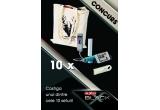 10 x sacosa branded cu Hannibal (incarcator cu difuzoare pentru smartphone + memory stick)