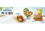 1000 x produs la alegere intre Chicken Grill Sanvis/ Chicken Grill Wrap/ Salata Chicken Grill