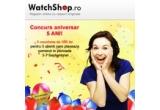 5 x voucher WatchShop.ro de 500 de lei