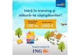 1 x 1000 euro, 83 x 100 ron