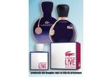 5 x parfum Eau de Lacoste Sensuelle EDP 50 ml pentru doamne sau Lacoste Live Male EDT 100 ml pentru domni