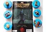 1 x revista Guardians of the Galaxy: Prelude + 6 briose de la SelfishDelights