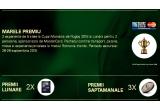 "2 x pachet turistic la Cupa Mondiala de Rugby din 2015, 8 x tableta Allview 2SQUAD 8.0"", 42 x minge de rugby cu semnatura lui Alexandru Mitu"