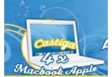 4 x Laptop MacBook Apple, 40 x parfum Lacoste Pink 90 ml, 400 x rezerve Always pe un an<br />