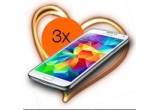 3 x smartphone Samsung Galaxy S5