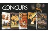 1 x excursie de revelion in Grecia, 10 x esarfa cu actori din filme indiene, 10 x cana personalizata cu actori din filme indiene