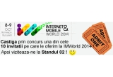 10 x invitatie la Internet & Mobile World 2014