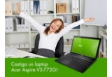 1 x laptop Acer Aspire V3-772G