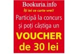1 x voucher Bookuria.info de 30 de lei
