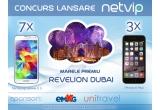 3 x iPhone 6 Plus, 7 x smartphone Samsung Galaxy S5, 1 x vacanta de Revelion 2015 la Dubai