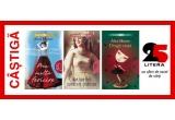 "1 x premiu constand in trei volume scrise de Alice Munro: ""Prea multa fericire"" + ""Ura, prietenie, dragoste, casatorie"" + ""Draga viata"""