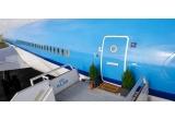 1 x bilet de avion Amsterdam + cazarea 2 nopti in aeronava KLM + cupon Airbnb de 500 EUR