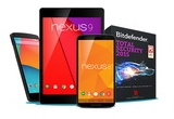1 x tableta Nexus 9, 1 x smartphone Nexus 6, 1 x smartphone Nexus 5, instant: Licența Bitdefender Total Security de 6 luni
