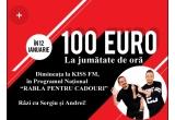 zilnic: 100 euro la fiecare 30 minute