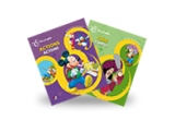 5 x premiu constand in doua carti din seria Disney English