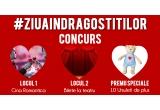 1 x Cina Romantica la Restaurant sau un voucher de cadouri de 200 RON, 1 x 2 bilete la teatru, 10 x ursuleț de plus cu inimioara
