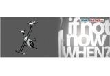 1 x bicicleta magnetica pliabila
