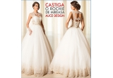 1 x voucher pentru o rochie de mireasa Alice Design la alegere