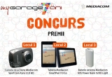 1 x camera de actiune Mediacom SportCam Xpro 110HD, 1 x tableta Mediacom SmartPad 7.0 Go, 1 x baterie externa Mediacom SOS Power Bank 5200 Light
