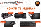 1 x Tastatura gaming Cougar 700K, 1 x Tastatura gaming Cougar 500K, 1 x Mouse gaming Cougar 700M Silver + Mouse pad Cougar Control M, 1 x Mouse gaming Cougar 600M Black + Mouse pad Cougar Speed M, 1 x Tastatura gaming Cougar 200K