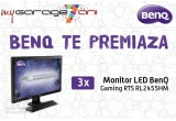 3 x monitor LED BenQ Gaming RTS RL2455HM 24 inch 1 ms GTG black-red