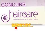 intre unul si 3 produse profesionale de ingrijire a parului, oferite de <a href=&quot;http://www.haircare.ro&quot; target=&quot;_blank&quot; rel=&quot;nofollow&quot;>HairCare.ro</a><br />