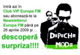 &nbsp;un super premiu surpriza Depeche Mode<br />