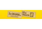 15 x tableta Apple iPad Air, 3 x 10.000 lei