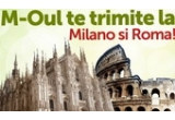 1 x excursie Duo-City Break la Roma si Milano