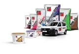 1 x masina Dacia Dokker, 20 x Kit de 5 scule Bosch Profesional, 200 x Tableta Samsung, 2000 x salopeta Baumit, 17780 x tricou Baumit