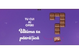 25000 x Patratica de ciocolata Milka 4.6g
