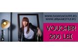 1 x voucher UrbanikStyle.ro  in valoare de 200 de lei