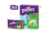 36 x set Pufies, 9 x voucher eMAG de 500 ron