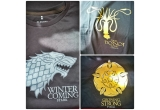 3 x tricou Game of Thrones (marimea S)