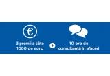 3 x 1.000 de euro + 10 ore de consultanța din partea lui Marius Ghenea