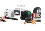 1 x televizor Smart LED LG Ultra HD 4K 42UB820V, 12 x expressor cu capsule Krups KP1201, 8 x cuptor cu microunde Whirlpool MWD301, 16 x aspirator cu sac Zelmer ZVC 165YF, 18 x soundbar Panasonic SC-HTB8EGK, 16 x laser Printer Samsung SL-M2022, 2 x Schimb gratuit de anvelope, 2 x Curs de limba germana la Dalles pentru incepatori + carti, 2 x Curs de initiere in machiaj - Scoala Christine Valmy, 2 x cina romantica in 2 la un restaurant de 4 stele, 2 x Curs de preparare a cafelei + expressor cu capsule Krups KP1201, 2 x Bilete la Robbie Williams + aparat foto Sony Cyber-Shot H300 + Card 8GB + incarcator cu 4 x acumulatori R6, 2 x  weekend la hotel Majestic de 3 nopti + aparat foto Sony Cyber-Shot H300 + Card 8GB + incarcator cu 4 x acumulatori R6