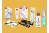 1 x kit de ingrijire orala pentru intreaga familie, 300 x pasta de dinti Splat Junior Kit 0-4 ani (pasta+periuta cadou) 55ml