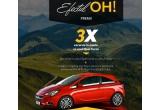 3 x excursie la munte cu noul Opel Corsa și plinul facut + cazare + mic dejun inclus