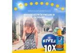 100 x minge nivea sun + ulei NIVEA protect & bronze SPF 20