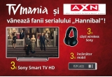 3 x Sony Smart TV HD, 3 x casti wireless Sony, 3 x incarcator mobil