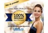 20 x 100% reducere la carti pe Libris