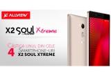 4 x smartphone Allview X2 Xtreme, instant: voucher de 20% reducere folosibil la achizitionarea telefoanelor din gama Soul