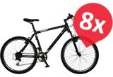 8 x bicicleta Cross Romero 26″ 2015, 36 x voucher Dechatlon de 400 lei, 84 x sticla de apa Vittel 1L