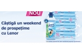 10 x sticla Lenor Super Concentrate 1.45 l, 1 x weekend la resort in Poiana Brașov