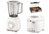 1 x friteuza Tefal, 1 x blender Philips, 1 x gratar electric Zelmer