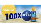 100 x crema Nivea Care de 100 ml