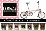 5 x bicicleta La Strada Strawberry