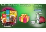 12 x Masina de tocat Heinner, 4000 x Material promotional supriza Kamis, 10000 x Condiment de la Kamis